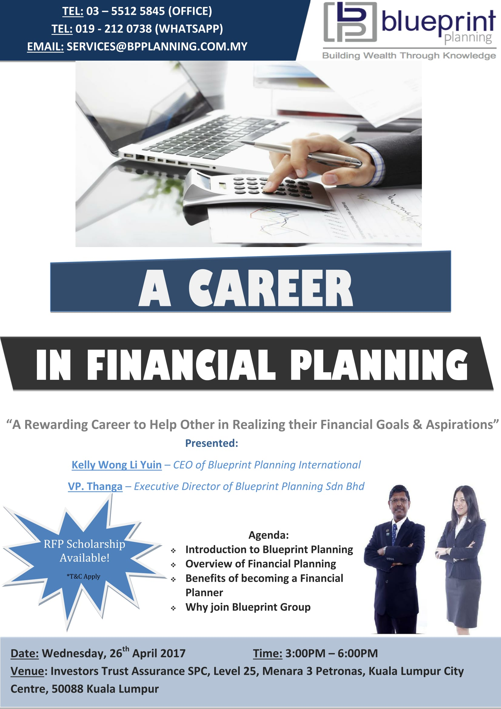 A career helping other people to achieve financial freedom please share this malvernweather Choice Image